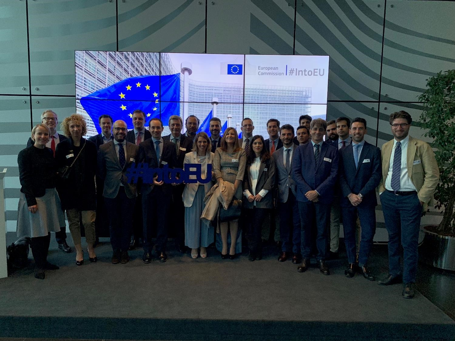 Workshop on European Institutions in Brussels organized by Andersen Tax & Legal