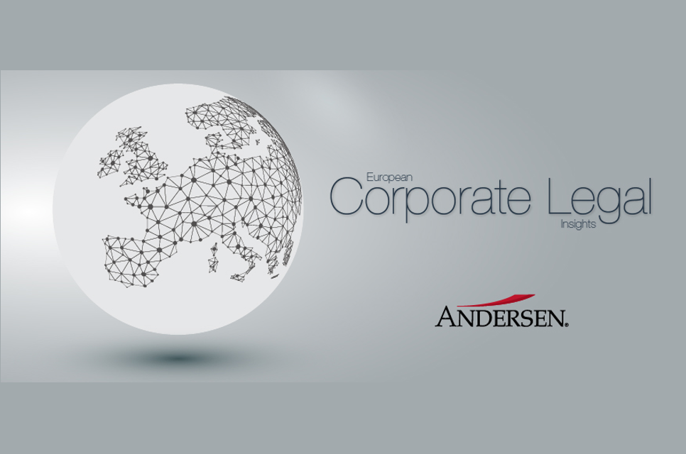 Andersen published the 1st edition of the European Corporate Legal Insights Magazine
