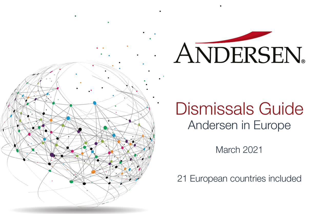 Andersen Guides: An overview of Dismissals Regulations in 21 European countries