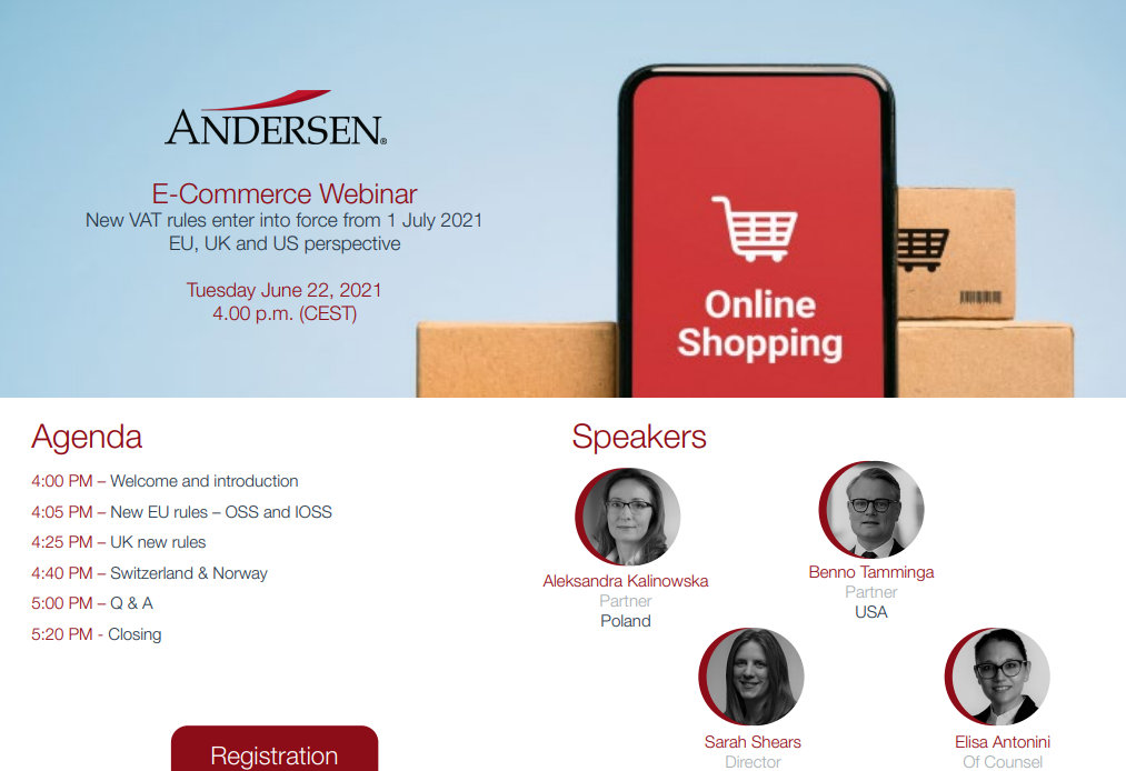 E-Commerce Webinar: 22 JUNE, 4 PM CET